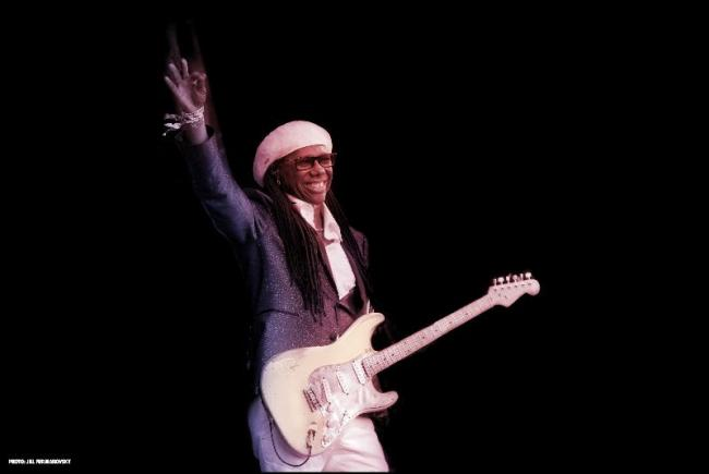 Nile Rodgers and CHIC will headline LIMF's Central Stage on July 20