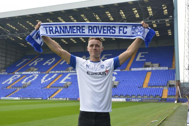 Tranmere Rovers have signed Crewe Alexandra captain George Ray on a two-year-contract