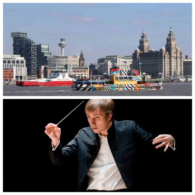 Musicians of the RLPO led by their Chief Conductor Vasily Petrenko gathered for the recording at Liverpool Philharmonic Hall in May