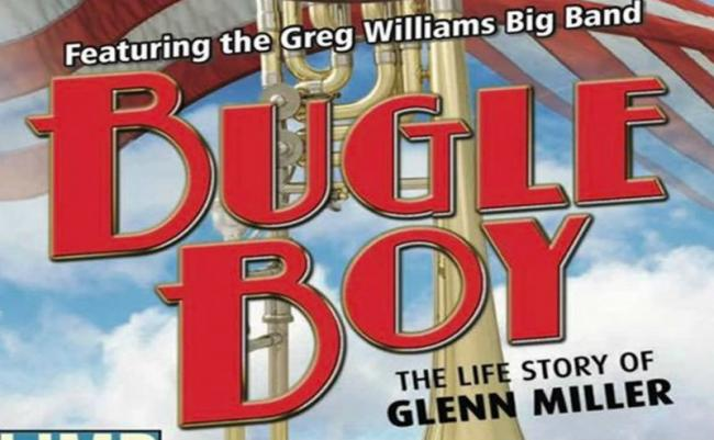 Poster for 'Bugle Boy' which will be staged at the Gladstone Theatre, Port Sunlight in aid of Limb Future charity from Friday. August 2 to Sunday August 4