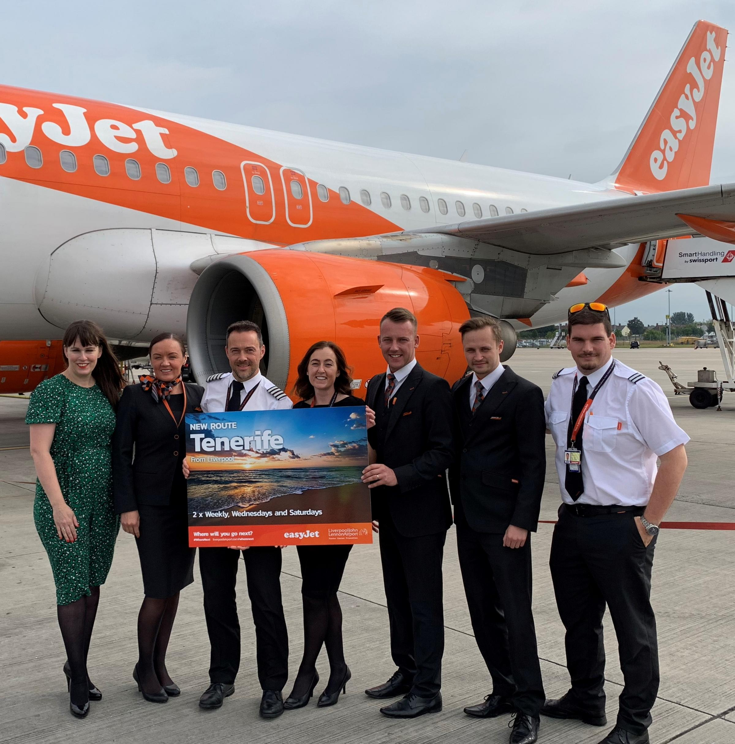 New flights to Tenerife from Liverpool John Lennon Airport revealed
