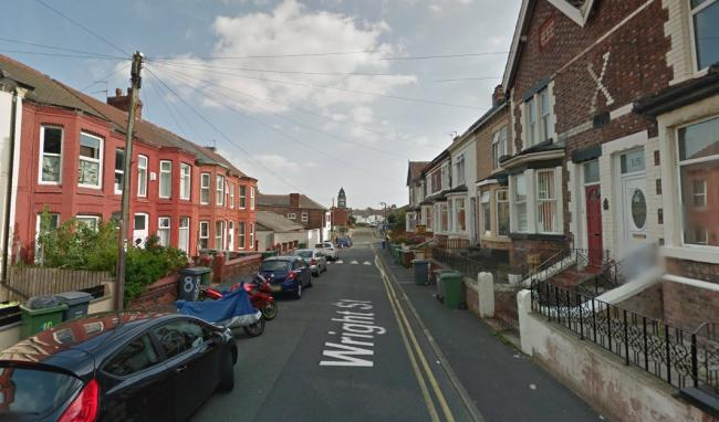 Police were called to Wright Street, Wallasey just after 7am on Tuesday, July 16 (Google Maps)