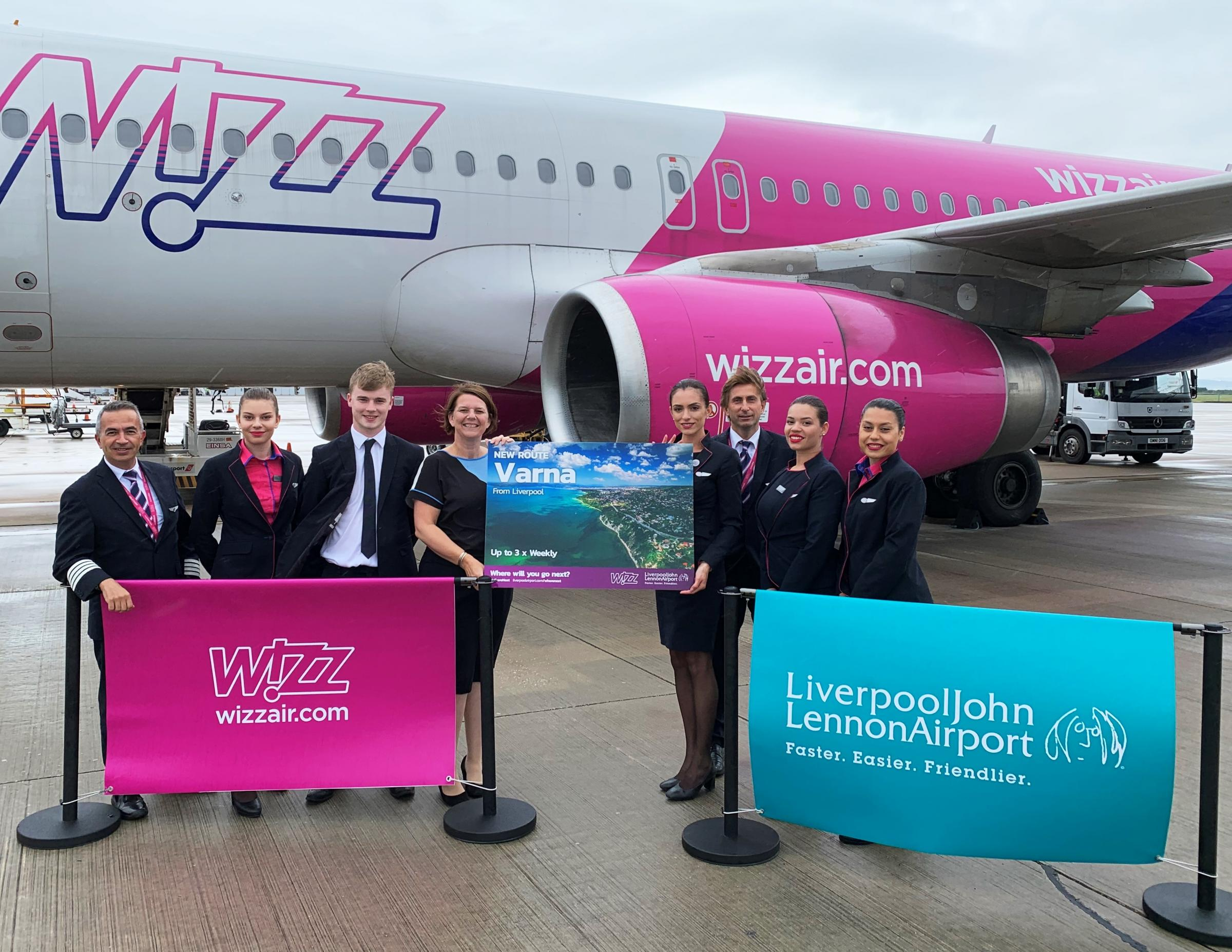 New Wizz Air flights to Black Sea Coast from Liverpool John Lennon Airport