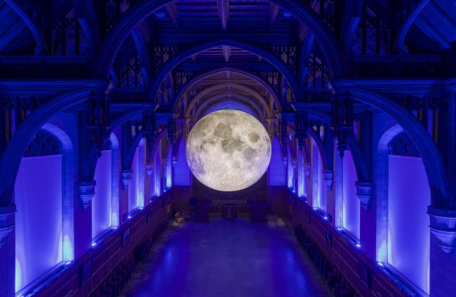 Museum of the Moon by Luke Jerram at the University of Bristol (Picture: Carolyn Eaton)