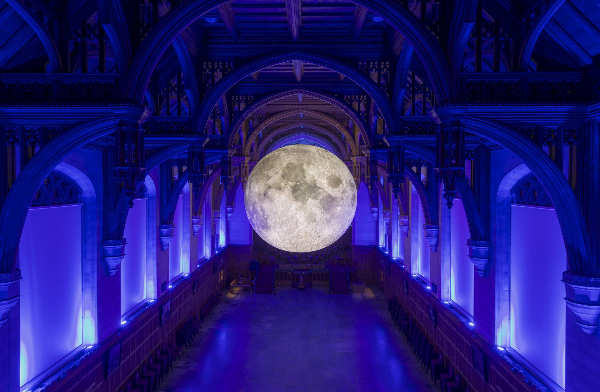The Museum of the Moon arrives in Birkenhead next week