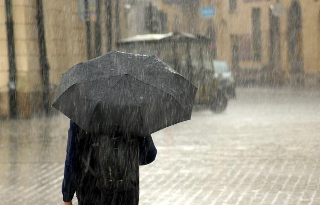 The Met Office have issued a severe weather warning for rain