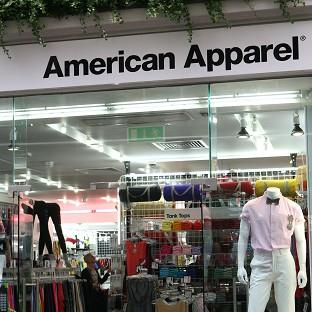 An American Apparel ad featured a partially nude model who looked under 16, ...