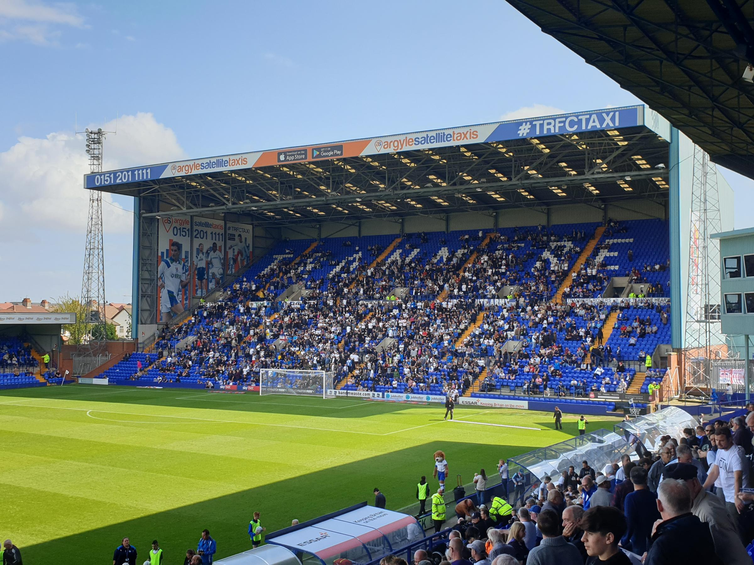 Tranmere Rovers 5-0 Bolton Wanderers - Match report
