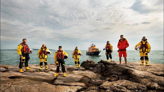 Hoylake RNLI volunteers will feature in the first episode of BBC TV series Saving Lives at Sea next week. Picture: RNLI
