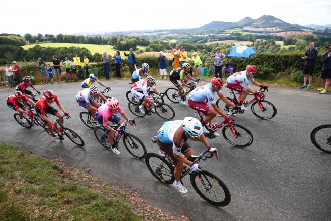 Stage 2 of OVO Energy Tour of Britain underway - Kelso to Kelso, Scotland (Picture by Alex Whitehead/SWpix.com)