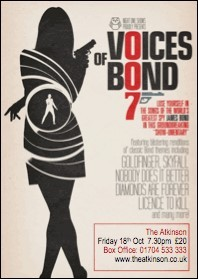 PREVIEW: 'Voices of Bond' at The Gladstone Theatre, Port Sunlight