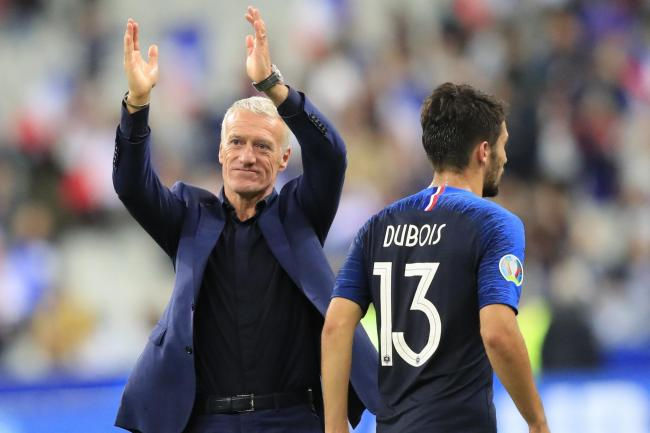 Didier Deschamps feels France have made progress in their past two Euro 2020 qualifying ties