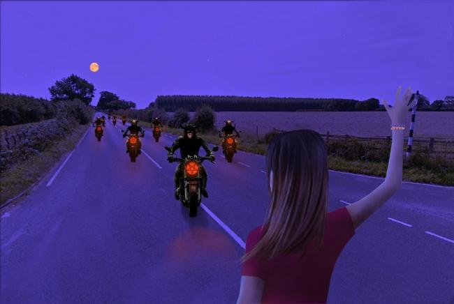 In this latest tale, Tom explores the mystery behind Wirral's demonic hell riders...