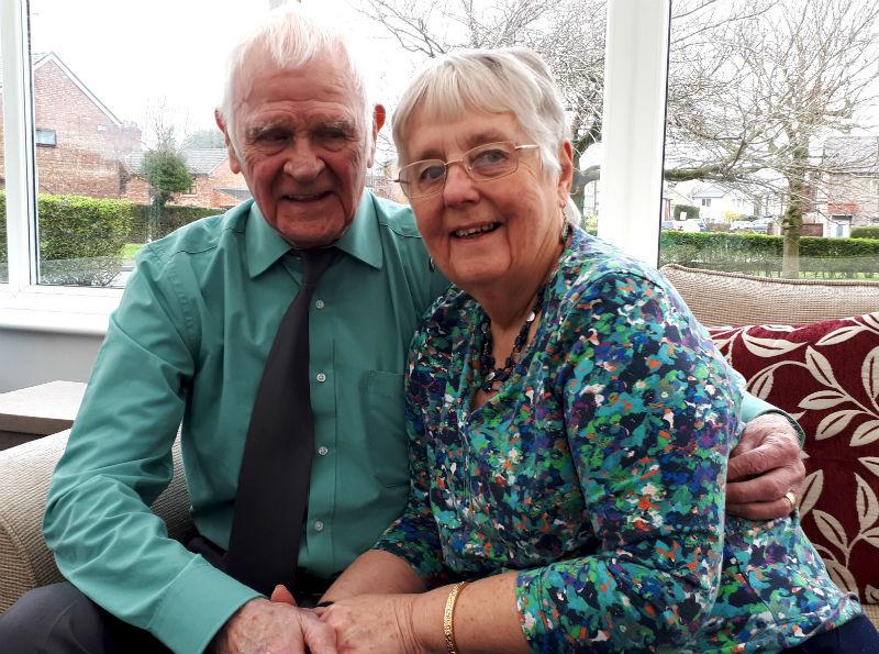 Wedding bells for Wirral octogenarians Joe Williams and Rachel Monger