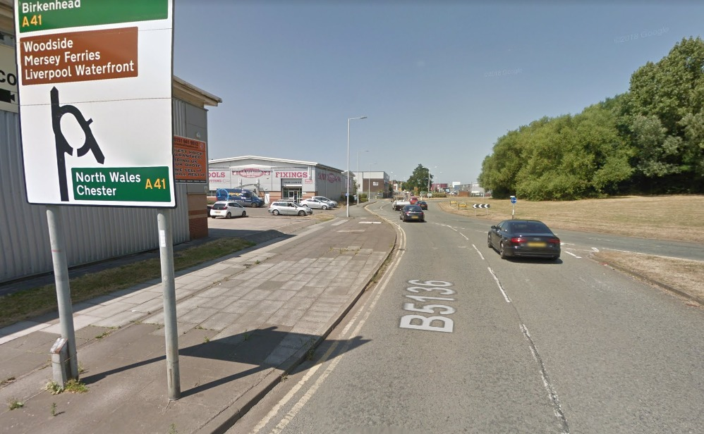Man punched and pushed into road by cyclist in Birkenhead