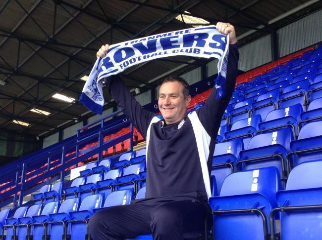 Tranmere Rovers manager Micky Mellon. Picture: Craig Manning