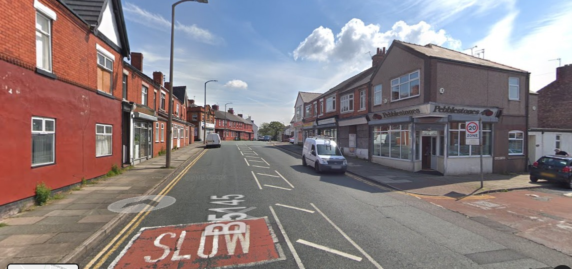 Man, 20, stabbed in neck during attack in Poulton Road, Wallasey