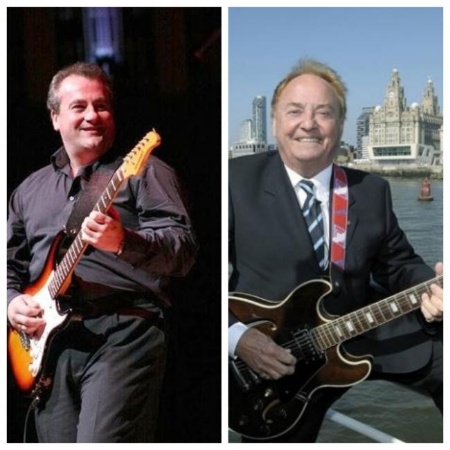 Gary Murphy and Gerry Marsden will appear in Merseybeat legends show at Liverpool Philharmonic Hall
