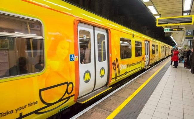Vaping and e-cigarettes are also included in the ban with warnings being issued to anyone smoking on the platforms on December 1 (Picture: Merseytravel)