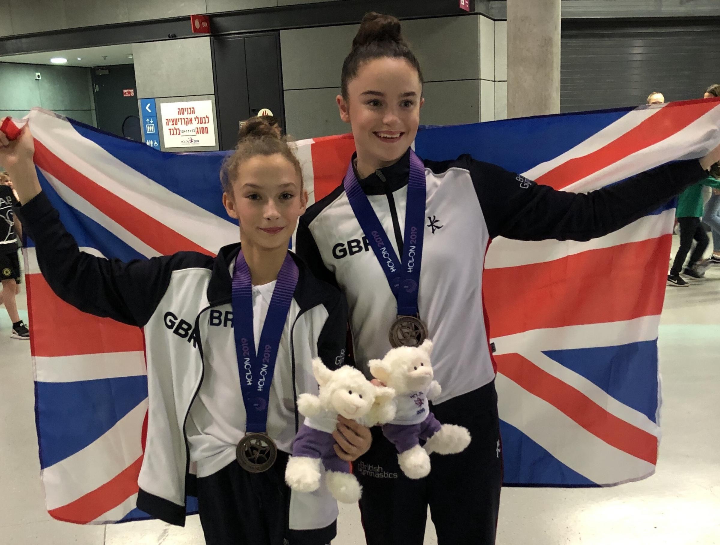 Birkenhead Gymnastics Academy superstars return from European Championships with bronze medal - Wirral Globe