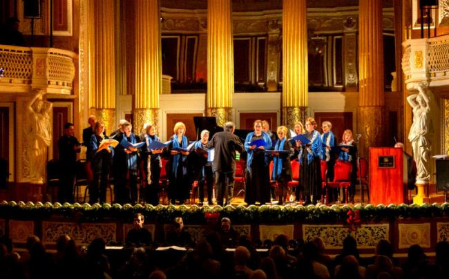 An evening of Christmas Carols for Claire House Children's Hospice takes place at St George's Hall in Liverpool on Monday, December 16