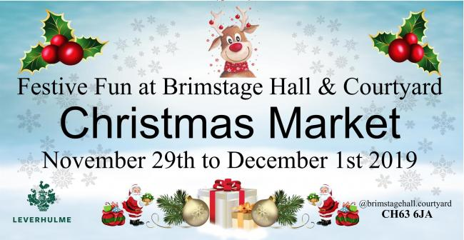 A festive market is coming to Brimstage Hall & Courtyard