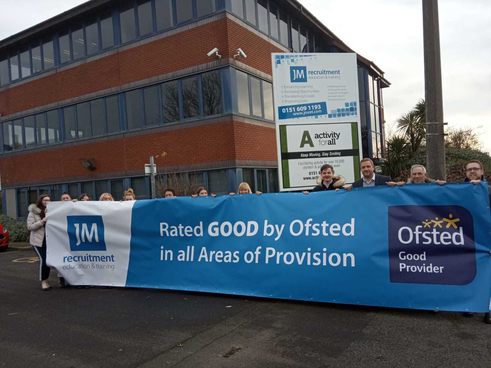 Learning provider becomes first in Wirral rated good in all areas under new Ofsted framework