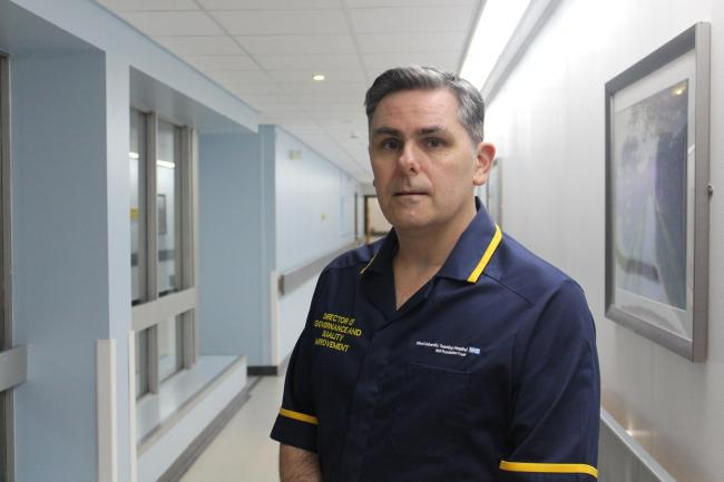 Paul Moore, Acting Chief Nurse at Wirral University Teaching Hospital