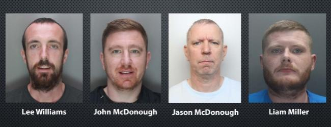 Four jailed after renting properties to produce cannabis supply network. Picture: Cheshire Police