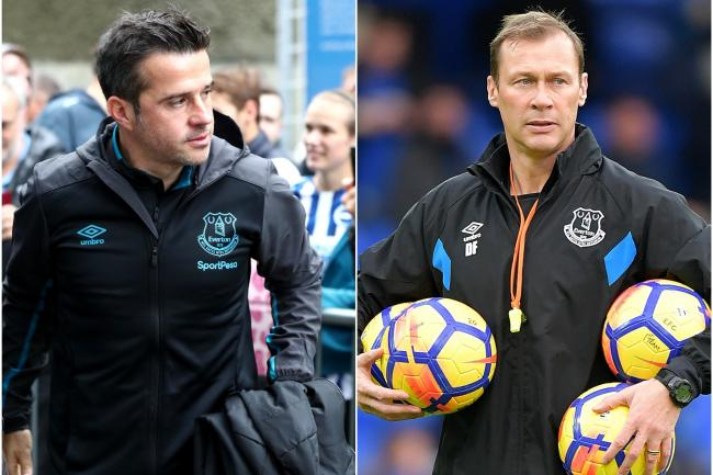 Marco Silva, left, and Duncan Ferguson