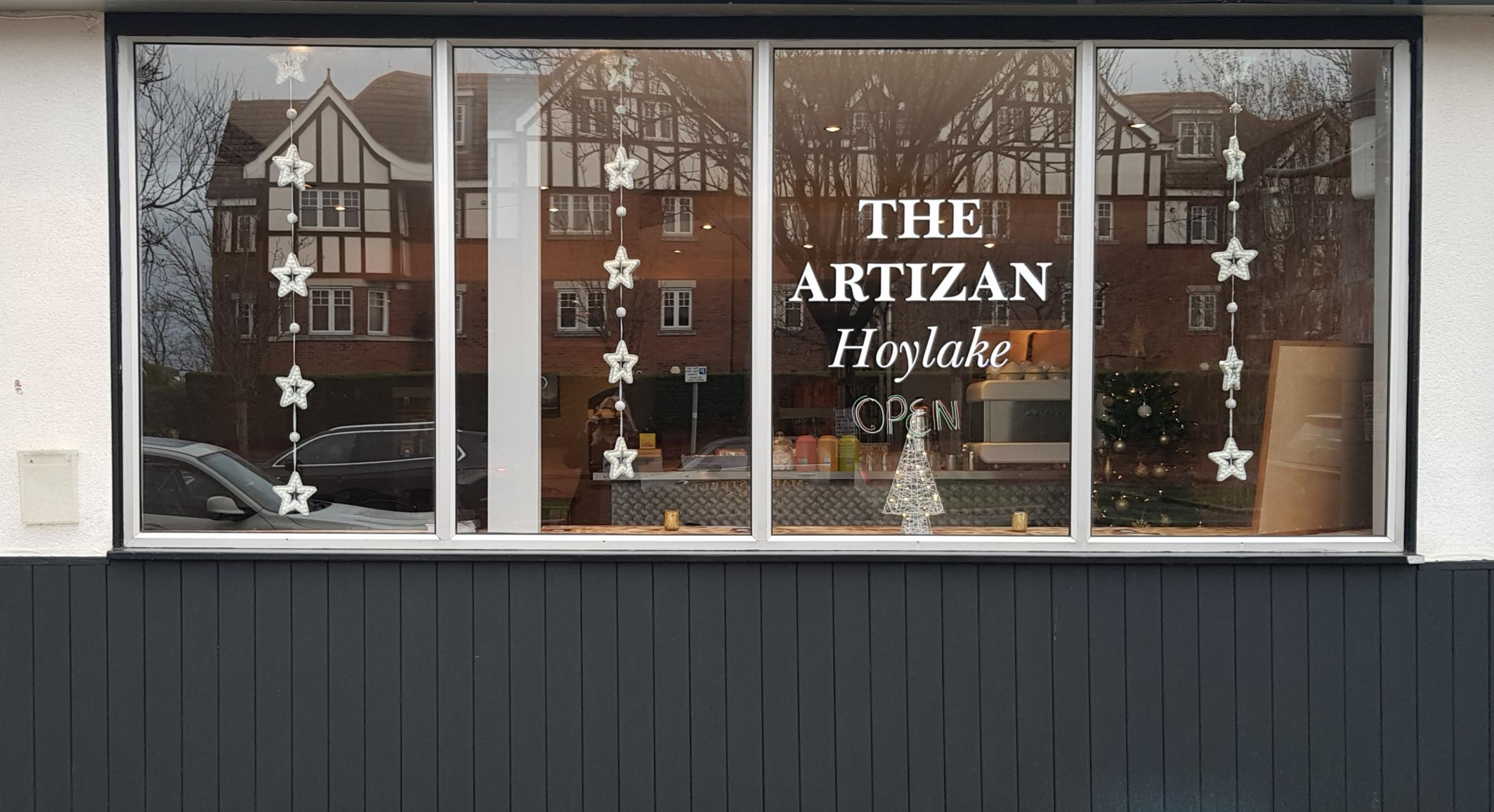 Take a look inside new bar and restaurant The Artizan