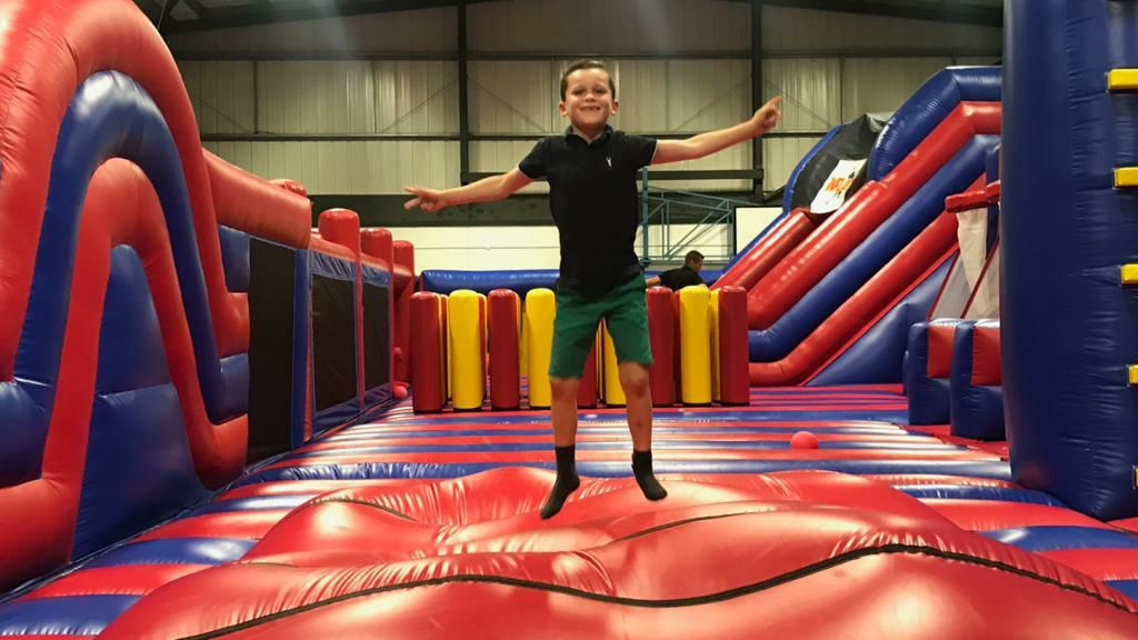 Festive fun for all the family with inflatable theme park