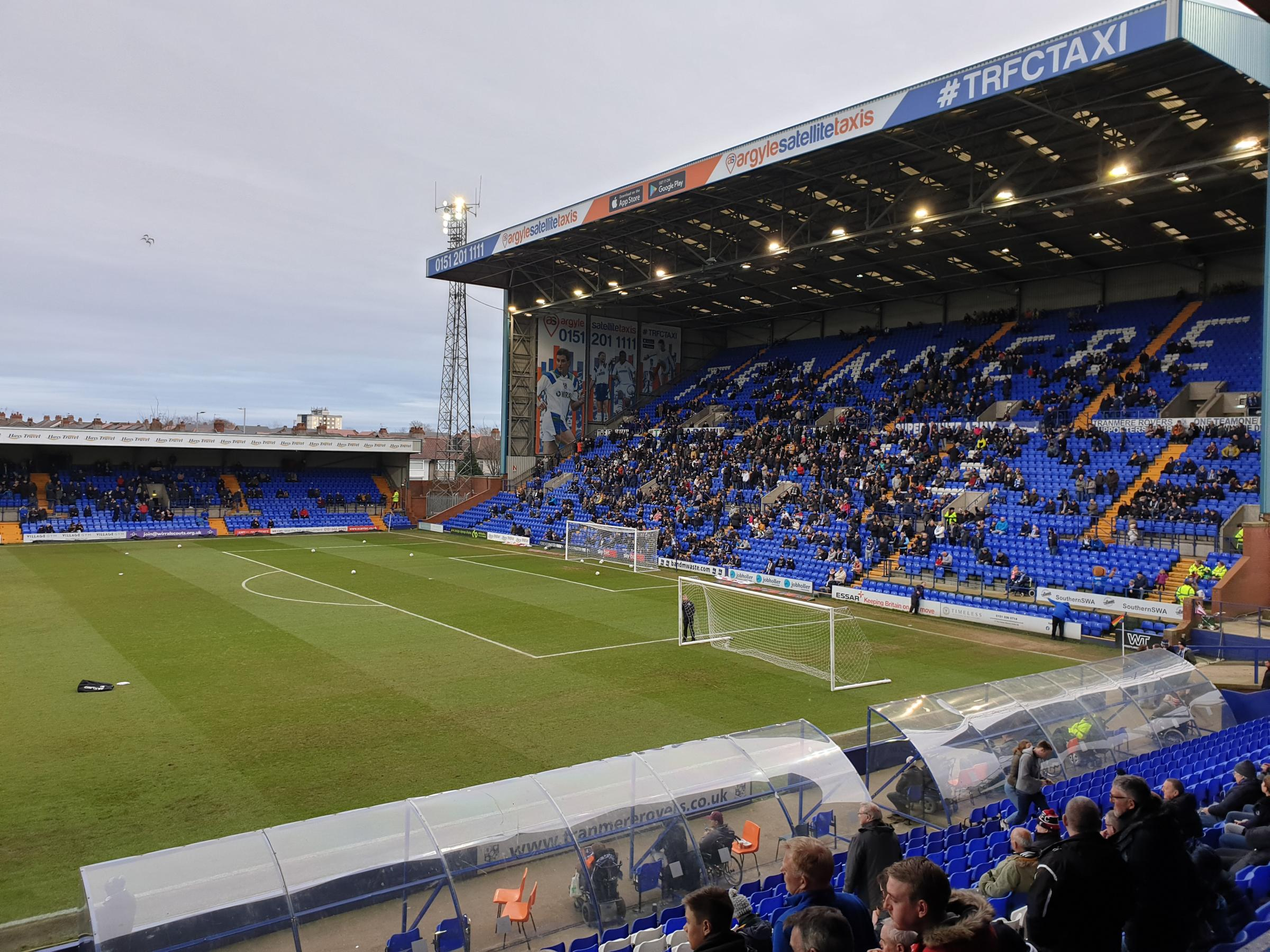 Tranmere Rovers 1-1 Accrington Stanley - Match report