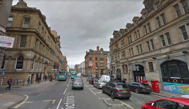The victim has since been taken to Walton Neurological Hospital for treatment for his head injury which he sustained following an attack outside Heaven, Victoria Street (Google Maps)