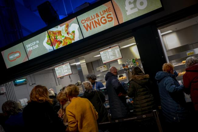 One of the new food stalls at M&S Bank Arena (Picture: Matt Baker)