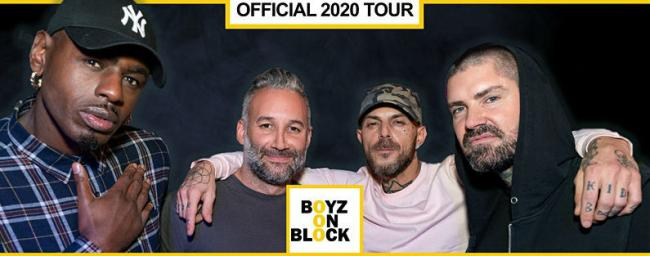 Promotional picture for Boys On Block tour