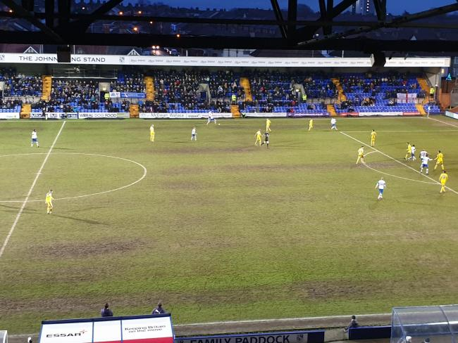 Tranmere Rovers 1-0 AFC Wimbledon. Photo credit: Richard Garnett