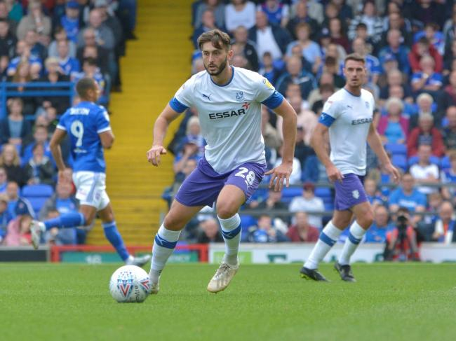 Tranmere midfielder Ollie Banks is on the road to recovery after injury