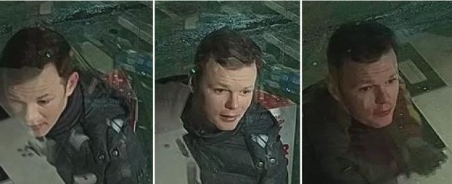 Police are looking for this man in connection to the incident at the Birkenhead Shell garage