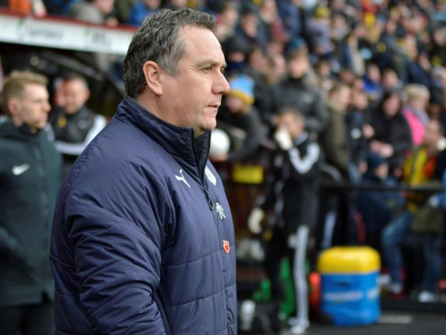 Micky Mellon is under no illusion about how important the trips to Roots Hall is. Photo credit: Tony Coombes