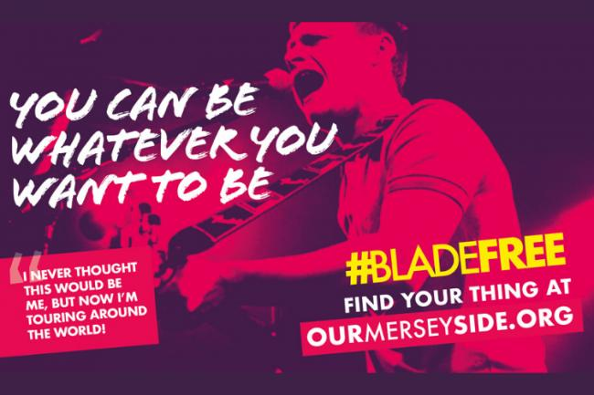 New campaign to help Merseyside become #BladeFree