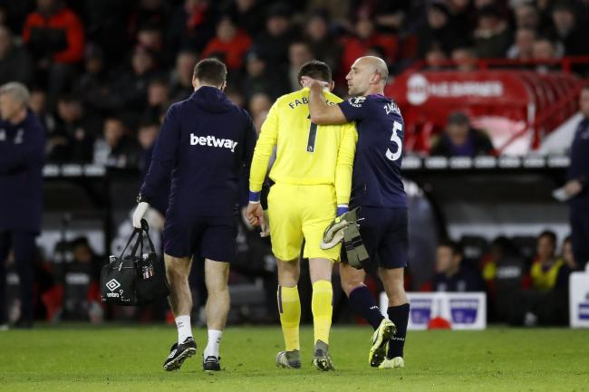 Lukasz Fabianski injured himself again on Friday