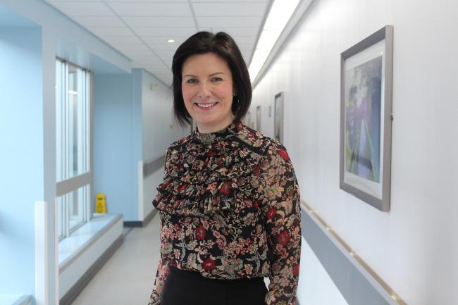 Wirral University Teaching Hospital Chief Nurse, Hazel Richards