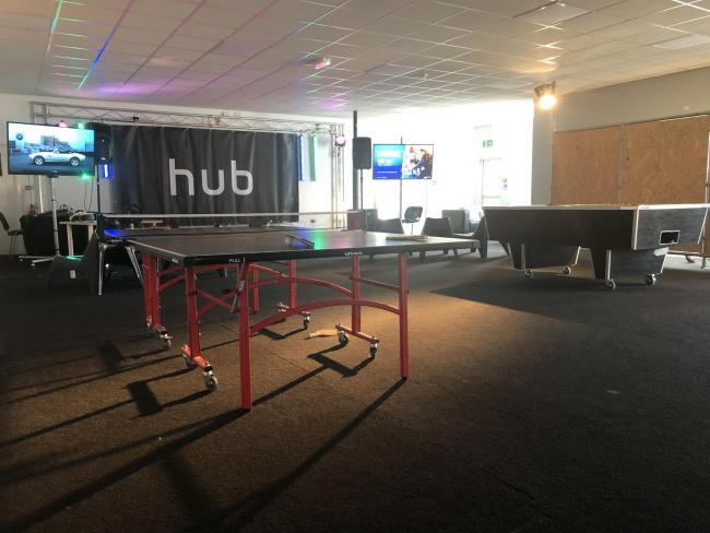 The Youth Hub in Bebington has been a bit hit with local young people