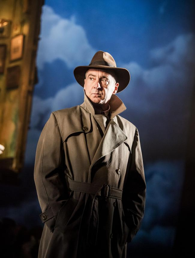 Production shot from An Inspector Calls.