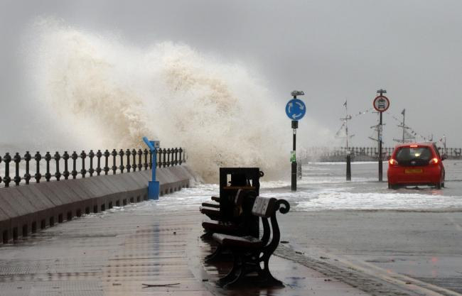 Storm Ciara has hit Wirral. Photo: Peter Lovatt