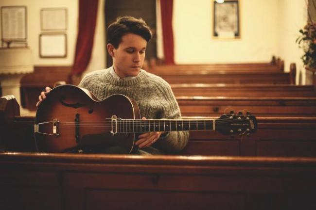Canterbury singer-songwriter Luke Jackson. Picture Facebook/ Folk at the Hall