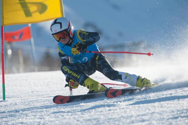 Prince of the slopes, Raffael Appino on his Grand Slalom run