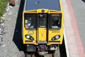 Library picture of Merseyrail train