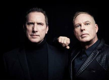 OMD co-founders Andy McCluskey and Paul Humphreys